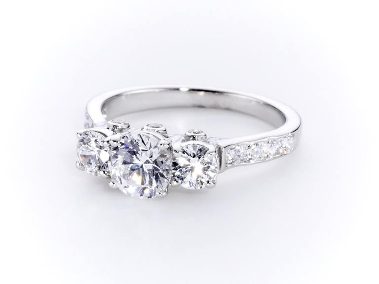 Triplet Diamond Ring CGHK03780