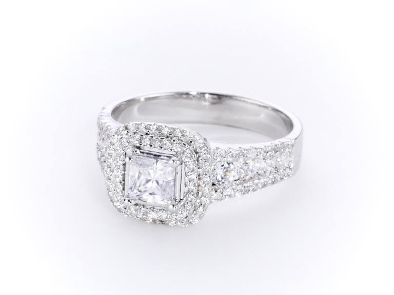 Princess Cut Diamond Ring CGHK04060